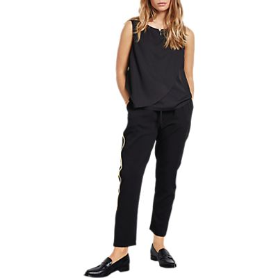 hush Alexis Trousers, Black/Gold