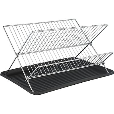 John Lewis X Shaped Dish Drainer  Chrome