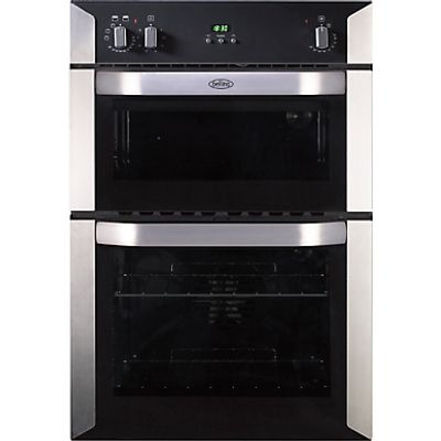 Belling BI90FP double ovens  in Stainless Steel 5034648495909