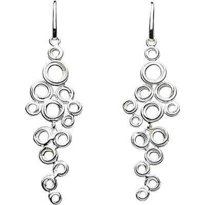 27551752 | Kit Heath Coil Cluster Drop Earrings  Silver Store