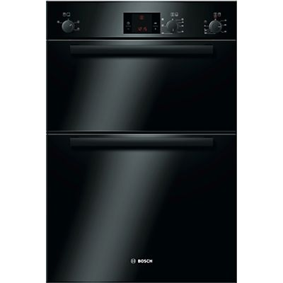4242002486086 | Bosch HBM13B261B Black Electric Eye Level Double Oven Store