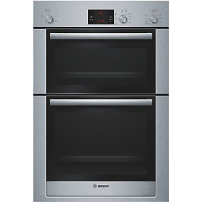 4242002708867 | Bosch HBM13B550B double ovens  in Brushed Steel Store