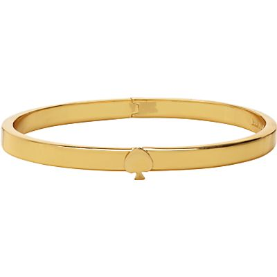 kate spade new york Thin Hinge Bangle, Gold