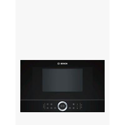 4242002871486: Bosch Serie 8 BFL634GB1B Built In Microwave  Black