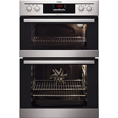 7332543356256 | AEG DC4013021M double ovens  in Stainless Steel