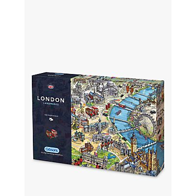 5012269070668 | Gibsons London Landmarks Jigsaw Puzzle  1000 Pieces Store