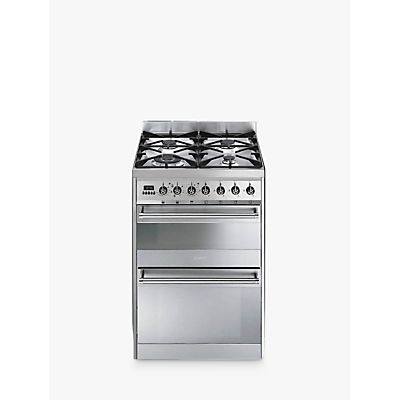 8017709149239 | Smeg SY62MX8 Symphony Dual Fuel Cooker  Stainless Steel