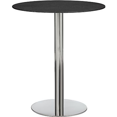 22161963 | John Lewis Enzo Stone Effect 2 Seater Dining Table  Black Store