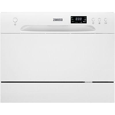 7332543445639 | Zanussi ZDM17301WA Compact Freestanding Dishwasher  White Store