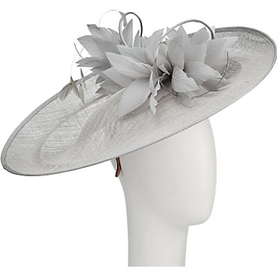 Vixen Millinery Ellie Disc and Feathers Occasion Hat