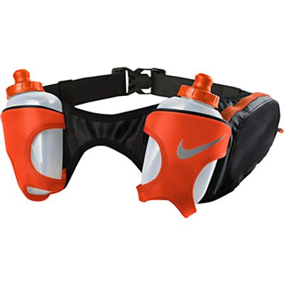 0887791128423 | Nike Double Flask Running Belt  Black Red Store
