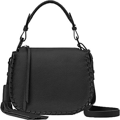 AllSaints Mori Lea Crossbody Bag, Black