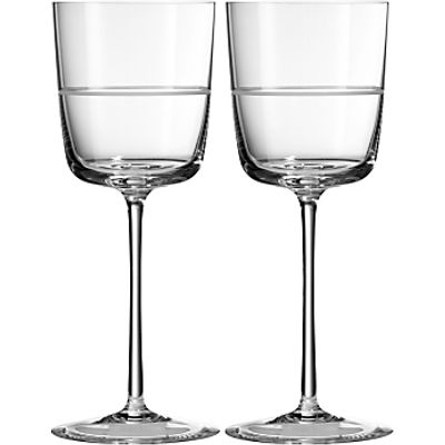 701587317252 | Vera Wang for Wedgwood Bande Wine Glass  Set of 2 Store