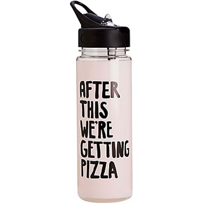 Ban do  Getting Pizza  Water Bottle  Pink - 825466936928