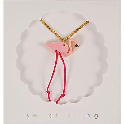 Meri Meri Children's Flamingo Necklace