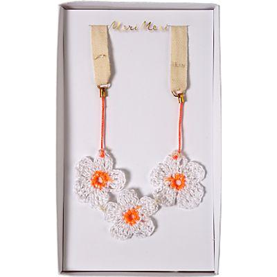 Meri Meri Children's Crochet Daisy Necklace