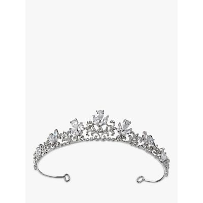 Ivory & Co. Eternal Love Pave Cubic Zirconia Tiara, Silver