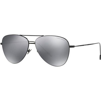 Giorgio Armani AR6049 Frames of Life Aviator Sunglasses