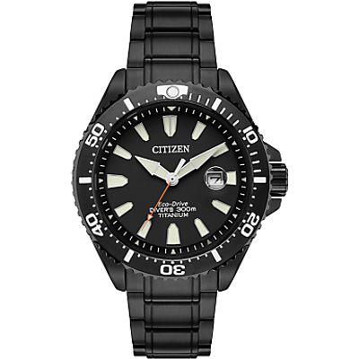 Citizen BN0147-57E Men's Royal Marines Commandos Limited Edition Date Titanium Bracelet Strap Watch,