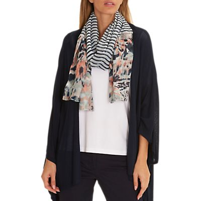 Betty Barclay Long Striped Scarf, Multi