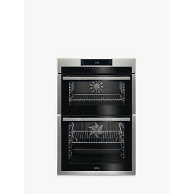 7332543526444 | AEG DCE731110M Built In Double Oven  Stainless Steel Store