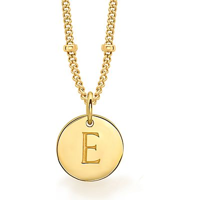 Missoma 18ct Gold Vermeil Initial Pendant Necklace