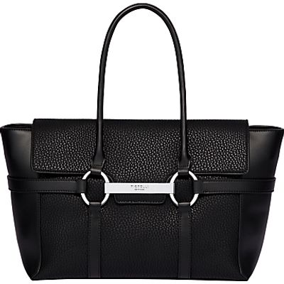 Fiorelli Barbican Large Flap Over Tote Bag, Black Casual Mix