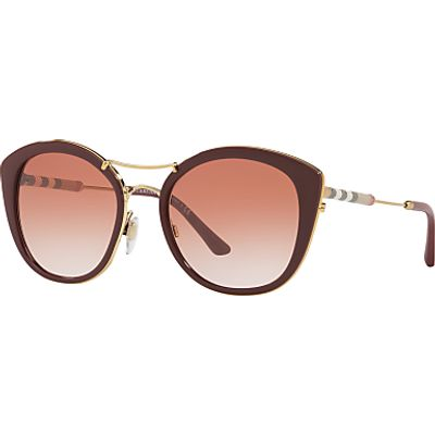 Burberry BE4251Q Round Sunglasses