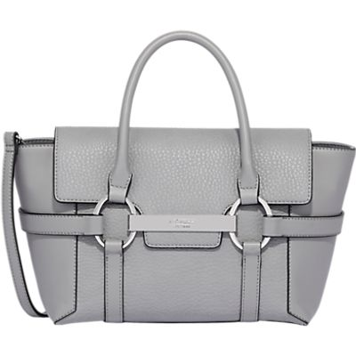 Fiorelli Barbican Small Flapover Tote Bag, Belgrave Grey Casual Mix