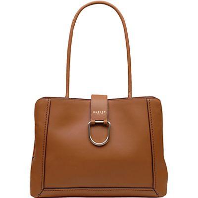 Radley Primrose Large Leather Tote Bag, Natural