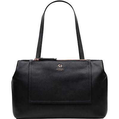 Radley Farthing Downs Large Leather Tote Bag, Black