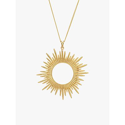 Rachel Jackson London Large Sunray Pendant Necklace
