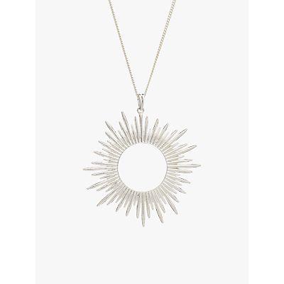 Rachel Jackson London Large Sunray Pendant Necklace