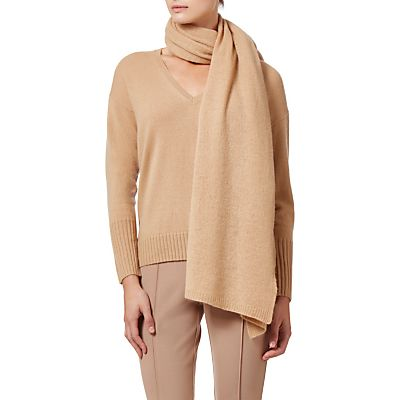 Winser London Cashmere Wrap, Soft Camel