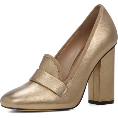 Aldo Colinda High Block Heel Loafers