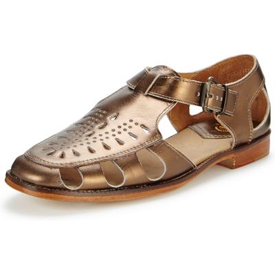 H By Hudson Sherbert Bronze Woven Flat Shoe