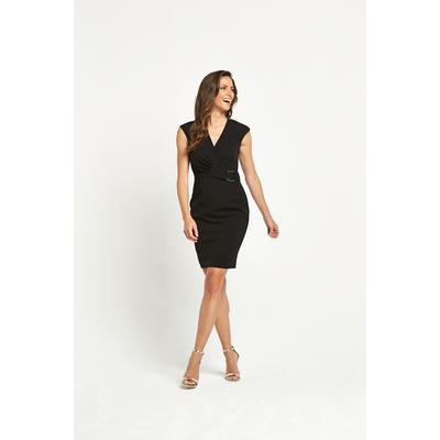 Savoir Buckle Detail Dress