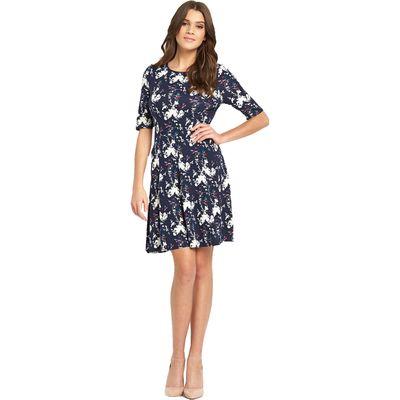 Oasis Bloom Bird Skater Dress