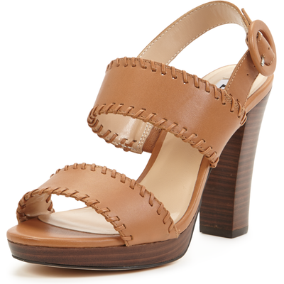 Dune Ibby Two Strap Heeled Sandals