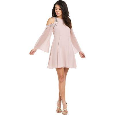 Lipsy Embellished Swing Dress