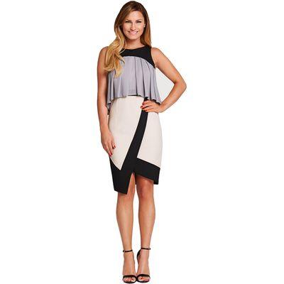 Very Frill Asymmetric Dress