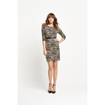 V By Very Ity Jersey Belted Dress