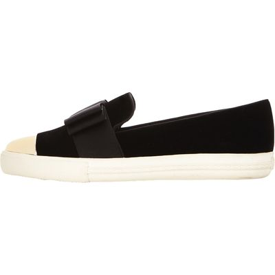 Miss KG Lisa Bow Plimsolls
