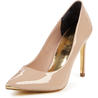 Ted Baker Neevo 4 Nude Court Shoes