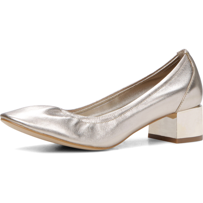 Aldo Kerari Round Toe Elasticated Ballerina Shoes