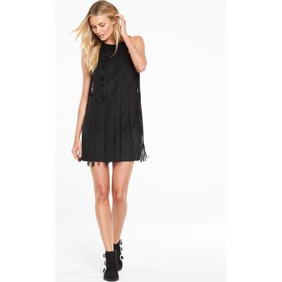 V By Very Fringe Halterneck Dress