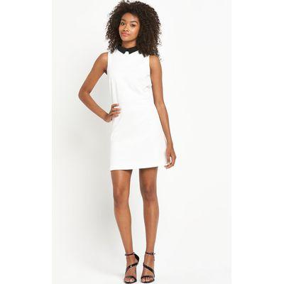 Definitions Mono Aline Collar Dress