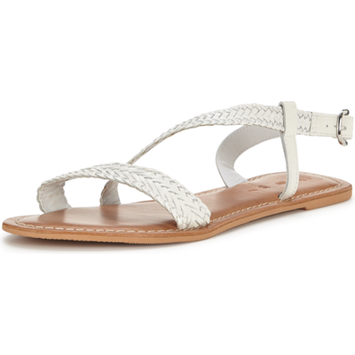 V by Very Woven Assymetric Sandals