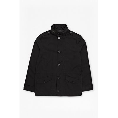 Crucifixion Waxed Jacket - black