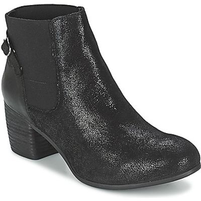 SPM  GIRAFE  women's Low Ankle Boots in black